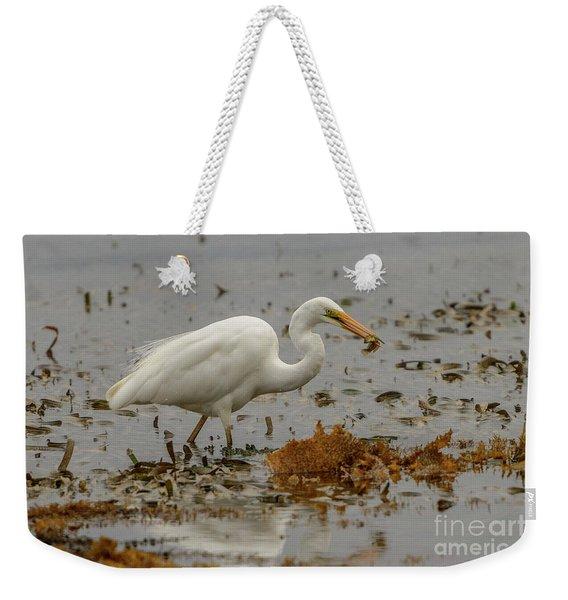 Eastern Great Egret 10 Weekender Tote Bag