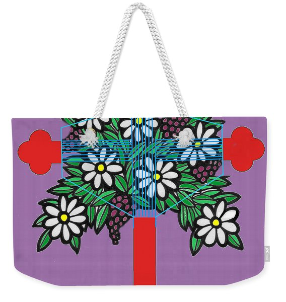 Eastern Ornate Weekender Tote Bag
