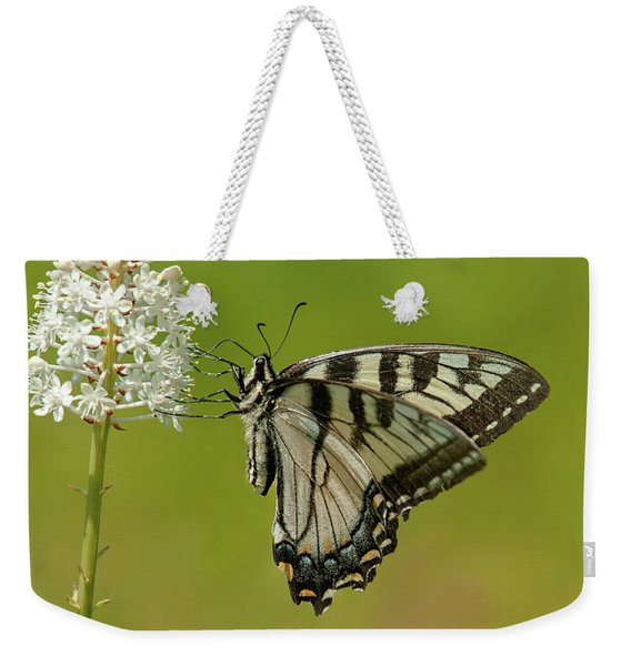 Eastern Swallowtail On Fly Poison Weekender Tote Bag