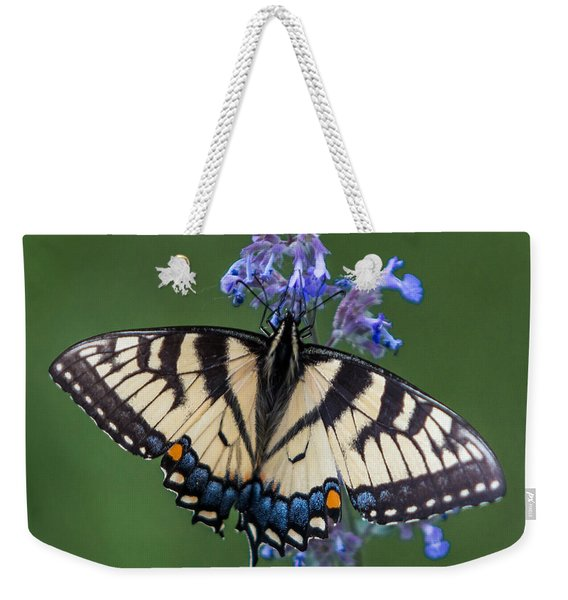 Eastern Tiger Swallowtail Wingspan Weekender Tote Bag