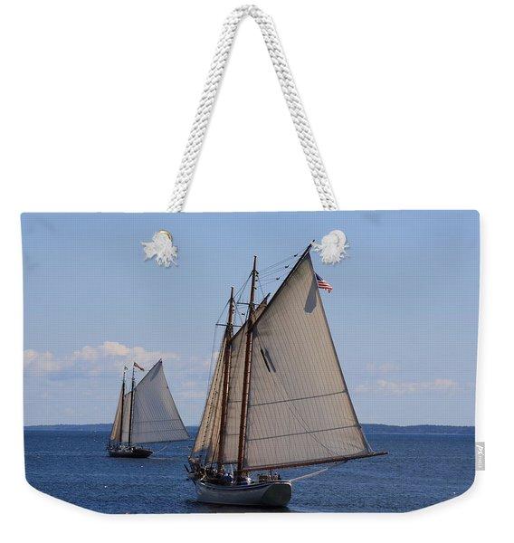 Eastward Weekender Tote Bag