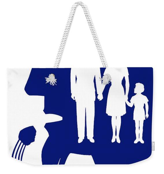Uncle Sam - Eat Nutritional Food Weekender Tote Bag