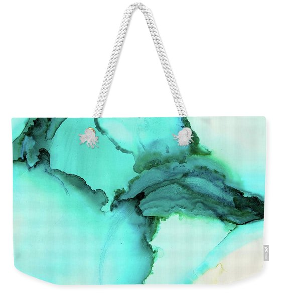 Ebb And Flow Weekender Tote Bag