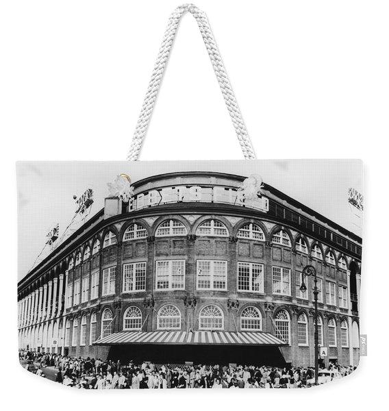 Ebbets Field, Brooklyn, Nyc Weekender Tote Bag