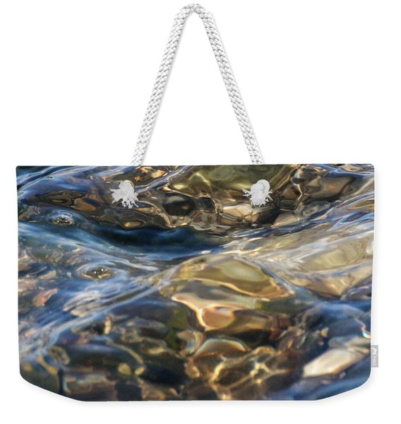 Weekender Tote Bag featuring the photograph Ebbing Tide 1 by William Selander