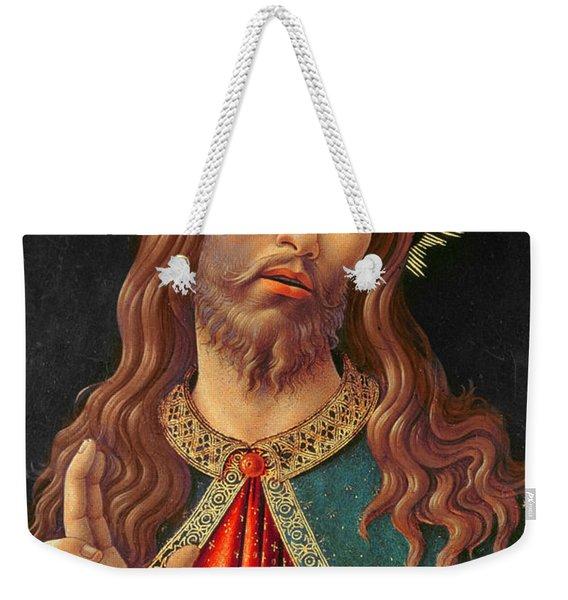 Ecce Homo Or The Redeemer Weekender Tote Bag