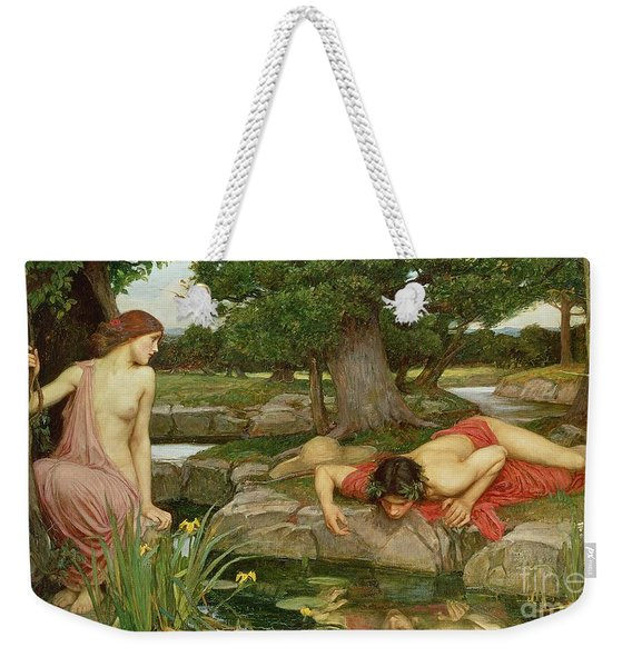 Echo And Narcissus Weekender Tote Bag