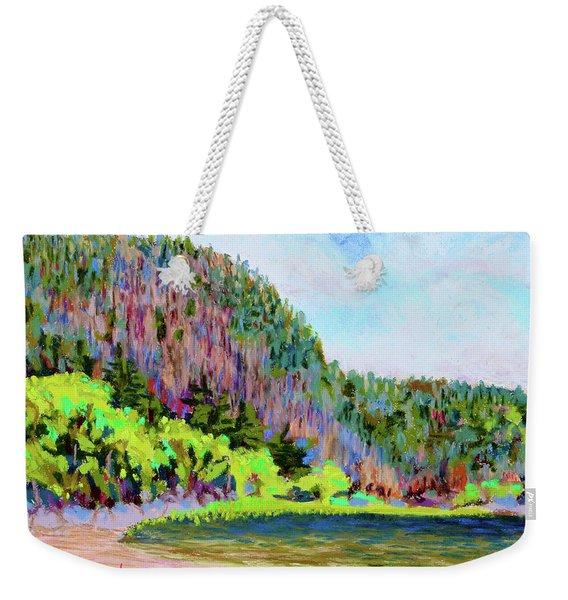 Echo Lake Beach, Acadia Weekender Tote Bag