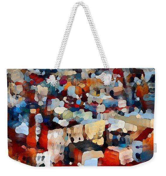 Echoes Of Civilization  Weekender Tote Bag