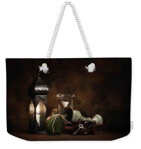 Eclectic Ensemble Weekender Tote Bag