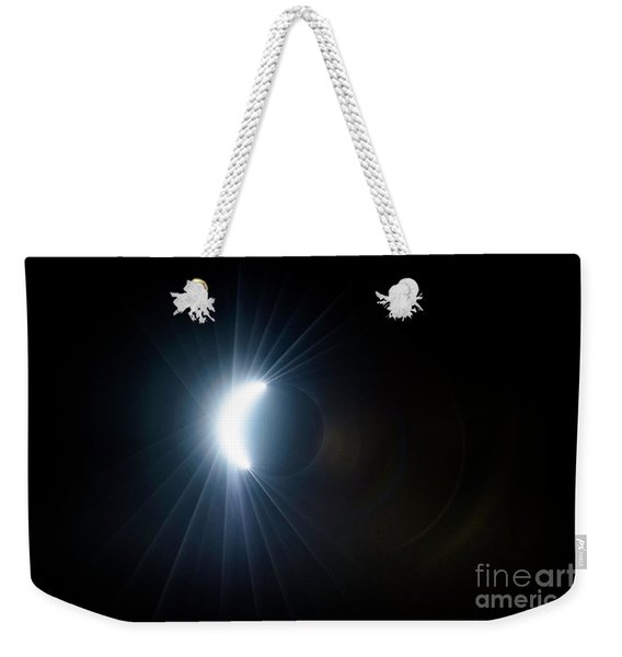 Eclipse Before Totality Weekender Tote Bag