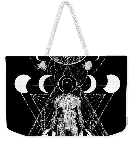 Eclipsed Weekender Tote Bag