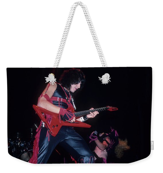 Eddie Ojeda Of Twisted Sister Weekender Tote Bag