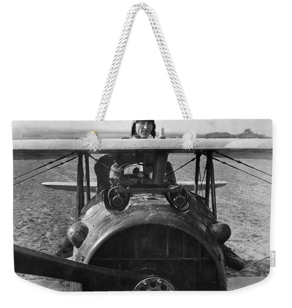 Eddie Rickenbacker - World War One - 1918 Weekender Tote Bag