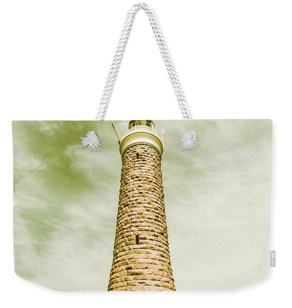 Eddystone Point Lighthouse Weekender Tote Bag