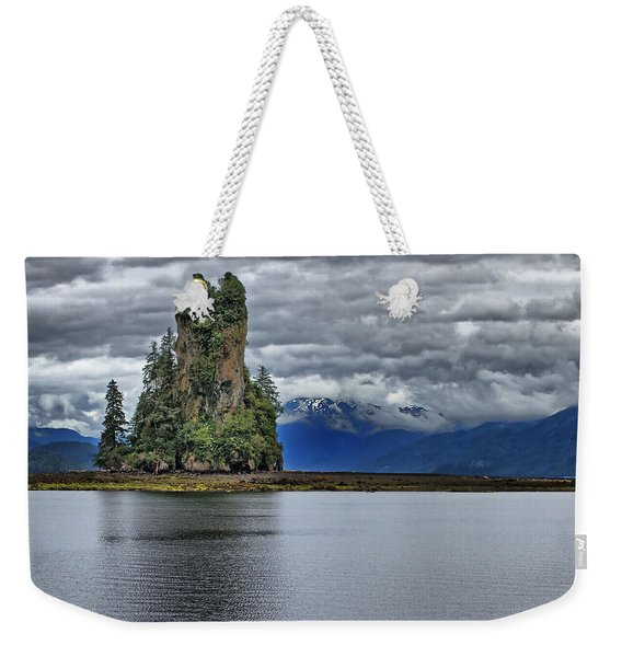 Eddystone Rock In Misty Fjords National Monument Weekender Tote Bag