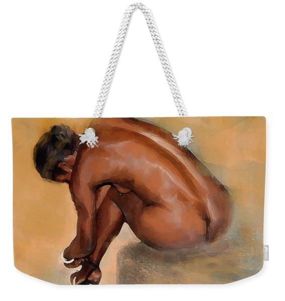 Edge Of Seduction Weekender Tote Bag