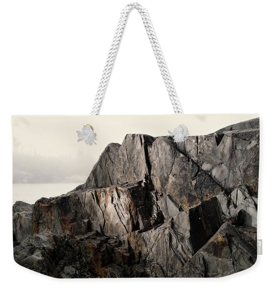 Weekender Tote Bag featuring the photograph Edge Of Pukaskwa by Doug Gibbons