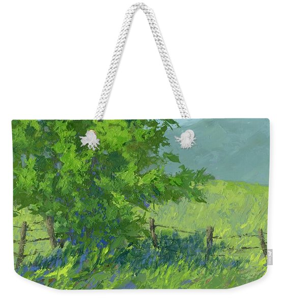 Edge Of Spring Weekender Tote Bag