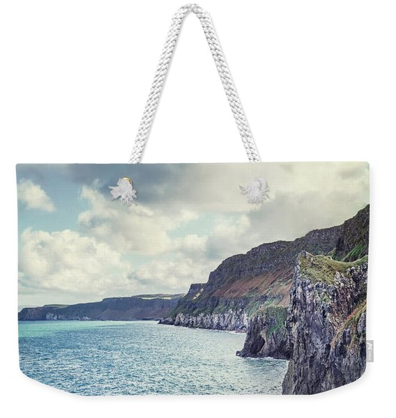 Edge Of The Sea Weekender Tote Bag
