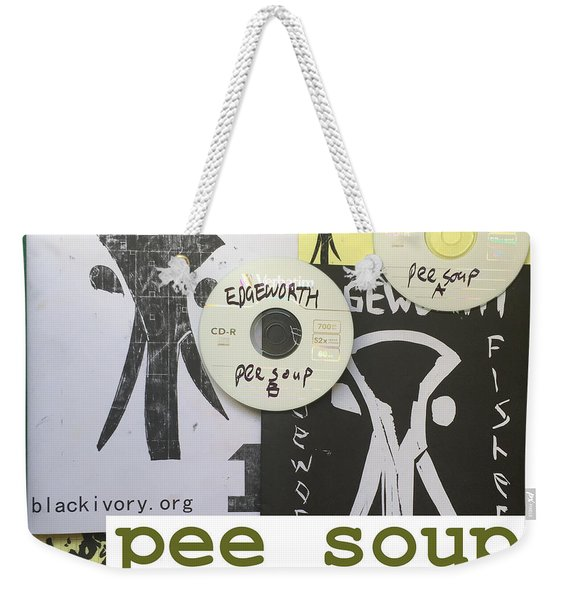 Edgeworth Pee Soup Album Cover Design Weekender Tote Bag
