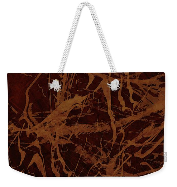 Edition 1 Rust Weekender Tote Bag