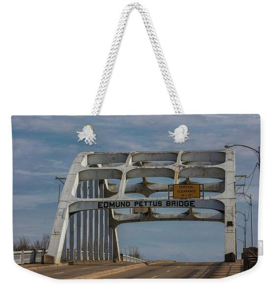 Edmund Pettus Bridge  Weekender Tote Bag