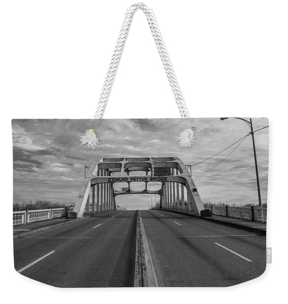 Edmund Pettus Bridge Selma Al Weekender Tote Bag