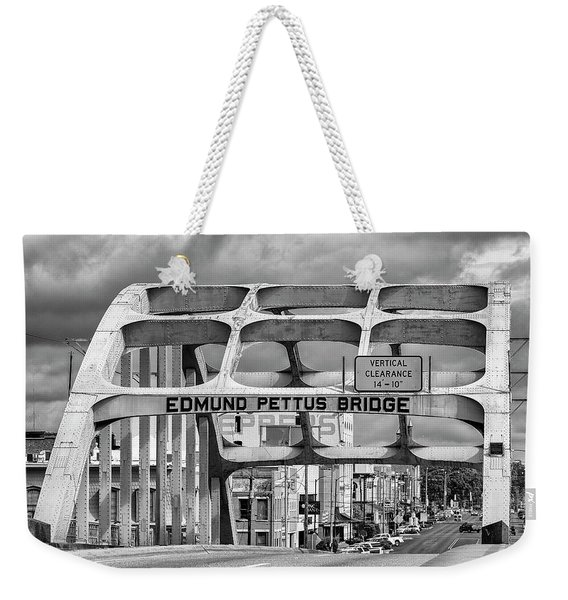 Edmund Pettus Bridge - Selma Weekender Tote Bag