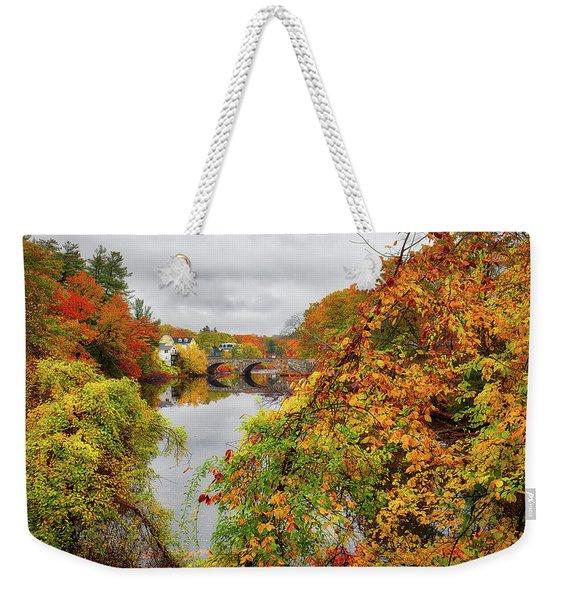 Edna Dean Proctor Bridge Weekender Tote Bag