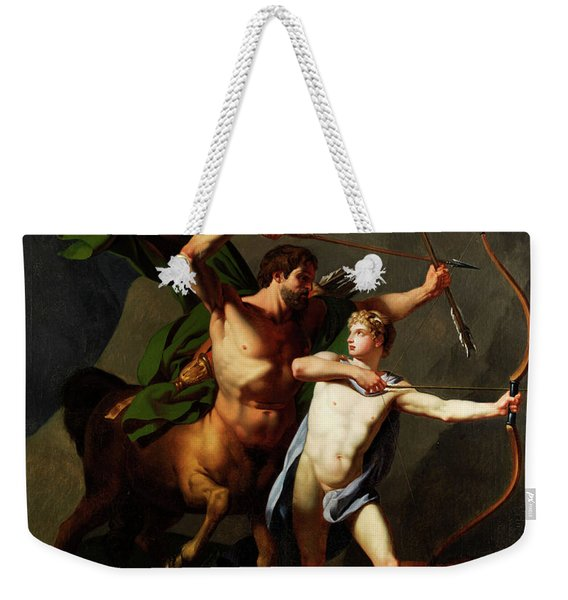 Education Of Achilles By The Centaur Chiron Weekender Tote Bag