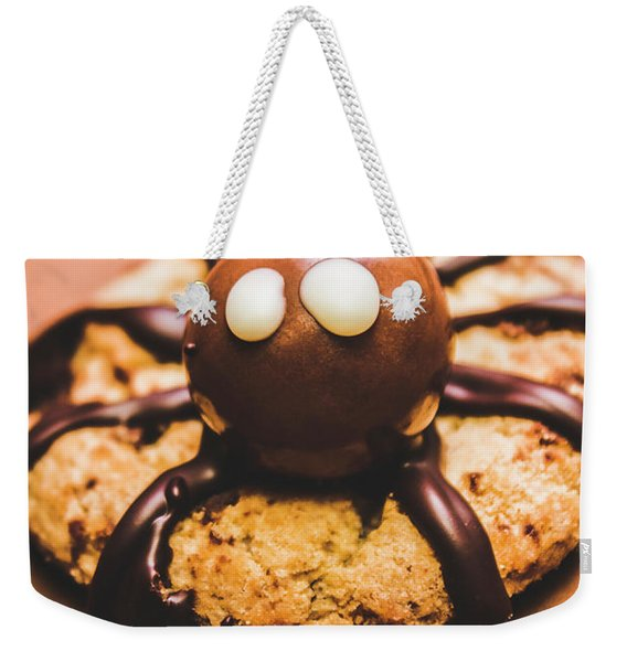 Eerie Monsters. Halloween Baking Treat Weekender Tote Bag