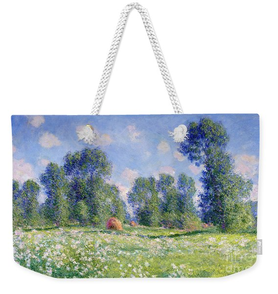 Effect Of Spring At Giverny Weekender Tote Bag