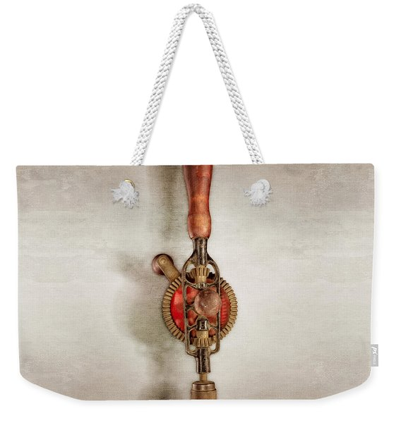 Egg Beater Hand Drill Weekender Tote Bag