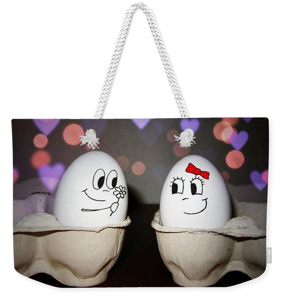 Egg Love Weekender Tote Bag