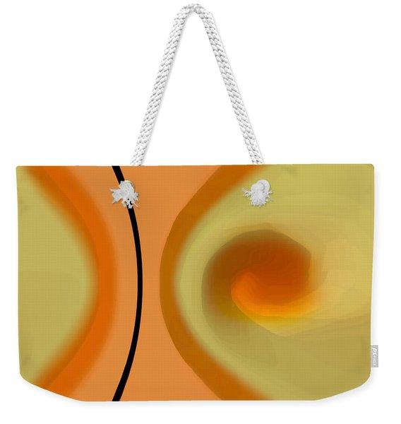 Egg On Broken Plate Weekender Tote Bag