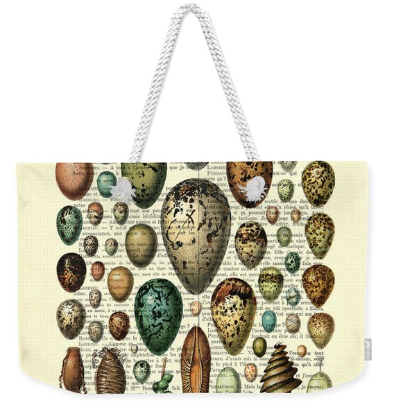 Eggs Collection Weekender Tote Bag