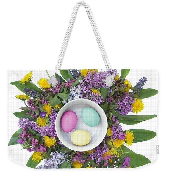 Eggs In A Bowl Weekender Tote Bag
