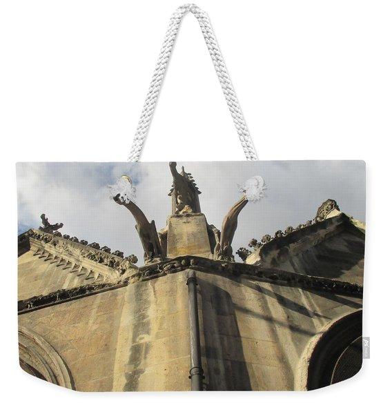 Eglise Saint-severin, Paris Weekender Tote Bag