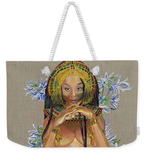 Egyptian Cotton Weekender Tote Bag