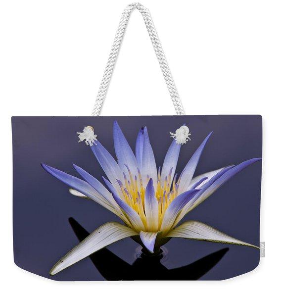 Egyptian Lotus Weekender Tote Bag