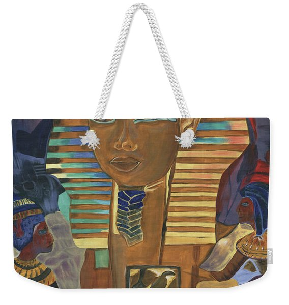 Egyptian Man Weekender Tote Bag