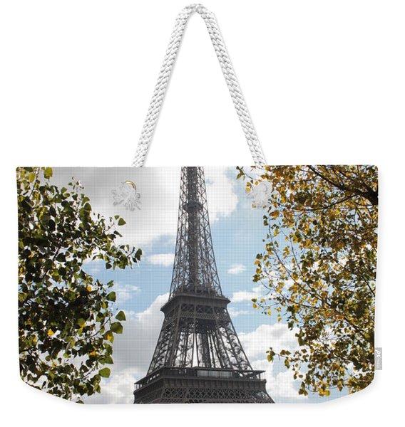 Eiffel From Avenue De New York Weekender Tote Bag