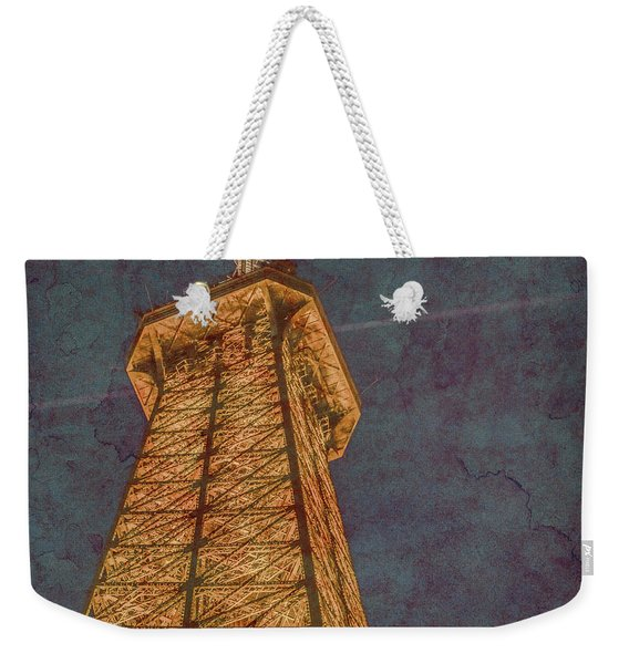 Paris, France - Eiffel Peak Weekender Tote Bag