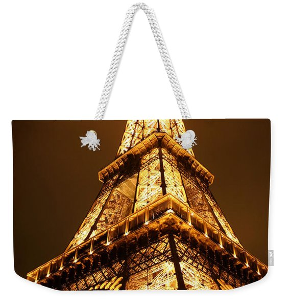 Weekender Tote Bag featuring the photograph Eiffel by Skip Hunt