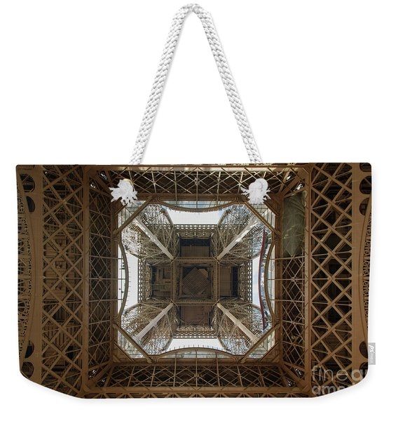 Eiffel Tower Abstract Weekender Tote Bag