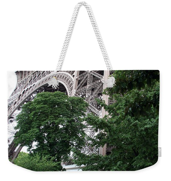 Eiffel Tower Garden Weekender Tote Bag