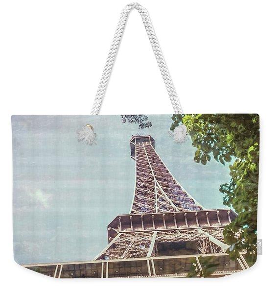 Eiffel Tower, Paris, France Weekender Tote Bag
