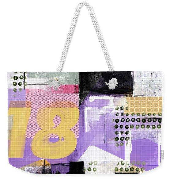 Eighteen Weekender Tote Bag