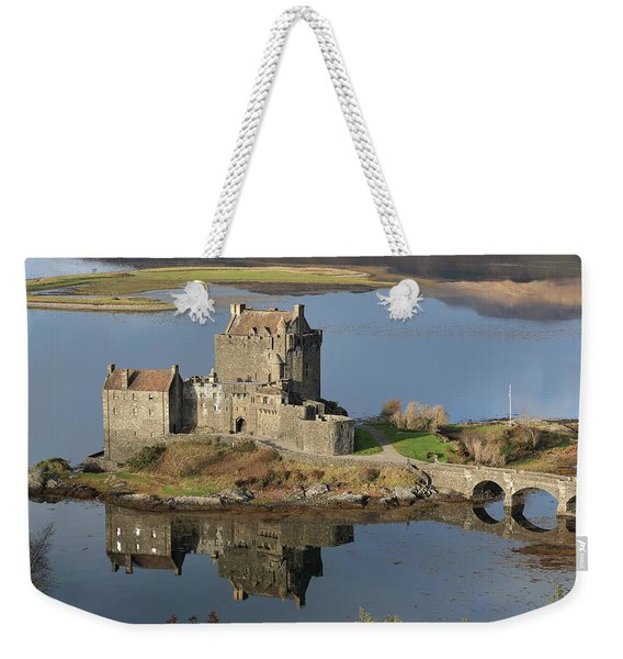 Eilean Donan Castle Reflections Weekender Tote Bag